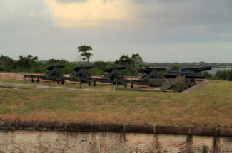Visit Fort Macon State Park during your fall girls getaway