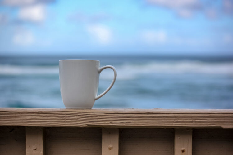 Enjoy coffee and amazing views from your rental each morning