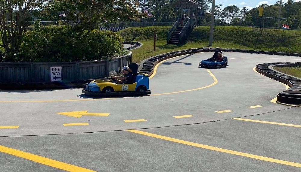 Golfin Dolphin go-karts