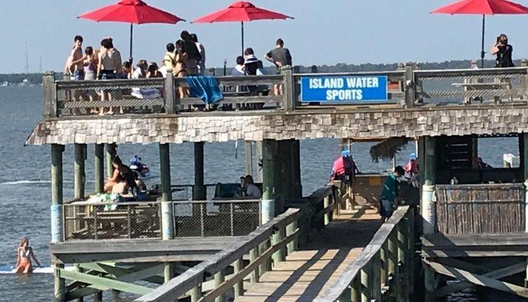 Island Water Sports dolphin deck