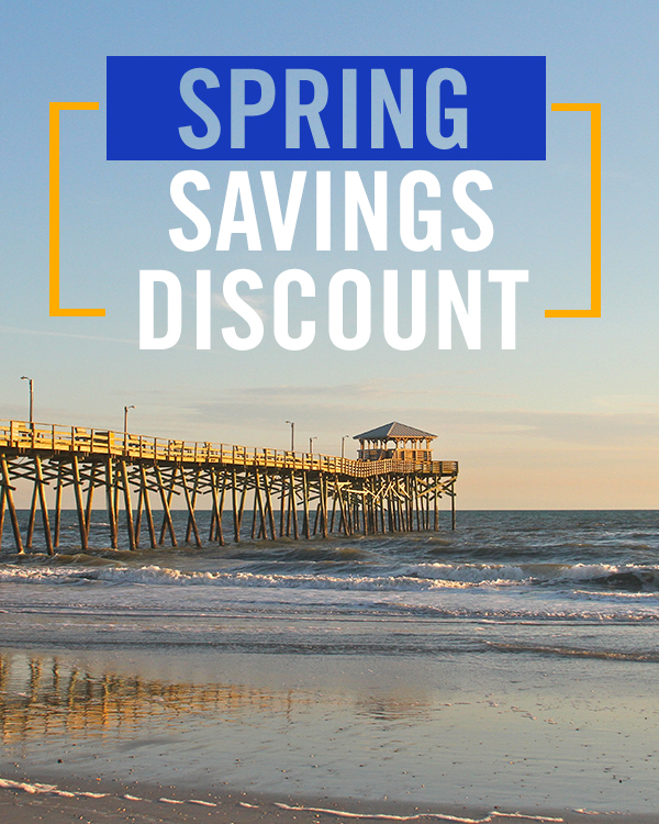 Emerald Isle Realty Spring Savings Discount on Vacation Rentals