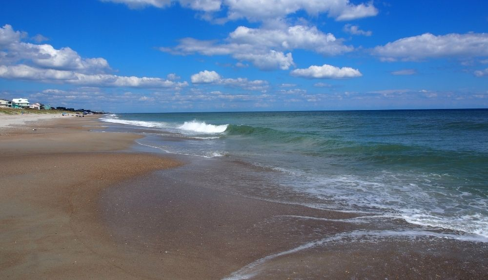 Extended stay vacations on the beaches in North Carolina