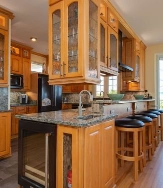 Fully-equipped kitchens for your long stay vacation