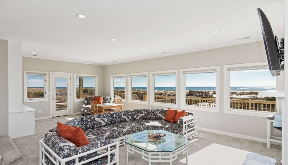 Spacious rentals in Emerald Isle for your long stay vacation