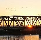 New Bern Sunset Bridge