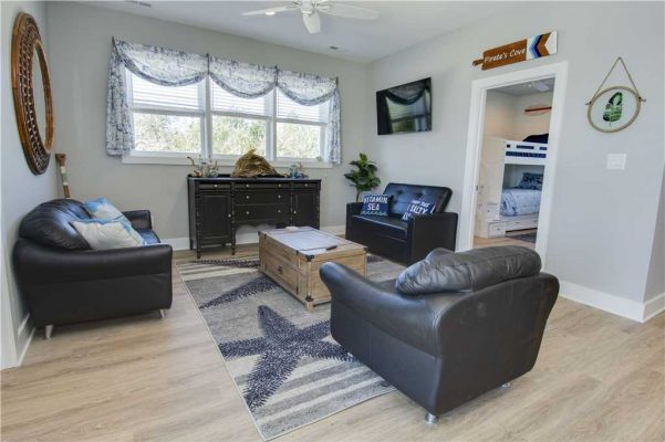 Featured Property - A Salt Life - Second Living Room