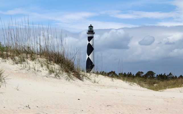 Best Picnic Spots on North Carolina's Crystal Coast-Cape Lookout