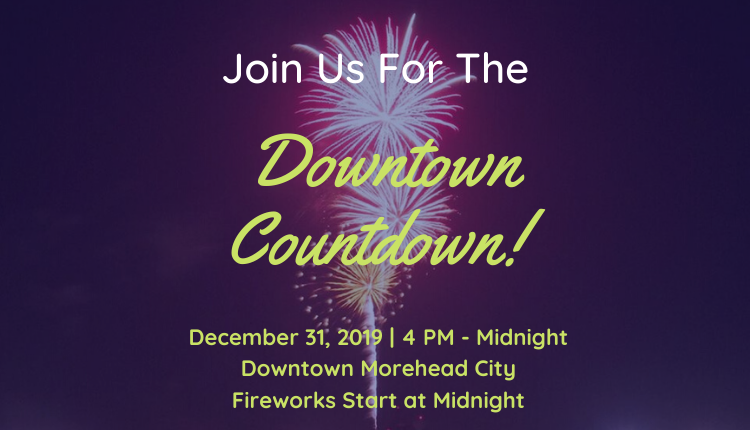 Best Things to Do During the Holidays on North Carolina's Crystal Coast - Downtown Countdown