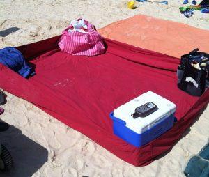 Emerald Isle Beach Hacks - Fitted Sheet