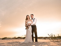 Emerald Isle Couple Wedding