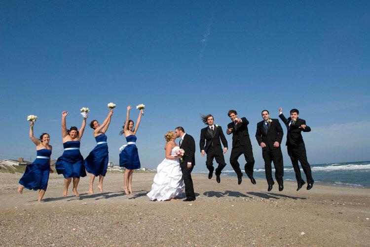 Beach Wedding Photos Emerald Isle Nc