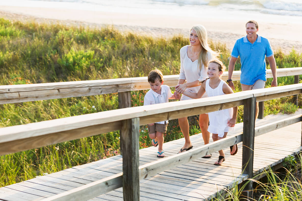 Spring vacation ideas for couples and families for February vacation spots for family