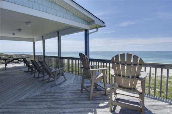 Featured Property - Above The Tide - Deck