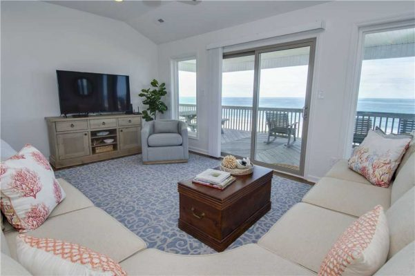 Featured Property - Above The Tide - Living Room
