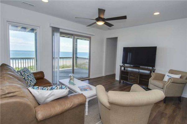 Featured Property - Above The Tide - Second Living Room