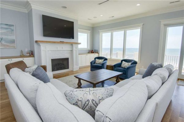 Featured Property Goin Coastal - Living Room