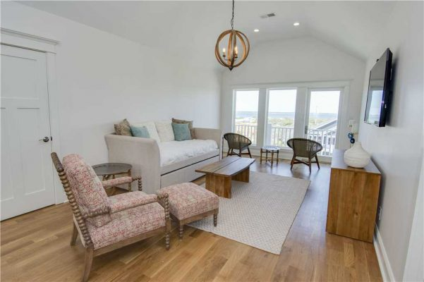 Featured Property Goin Coastal - Upstairs Living Room