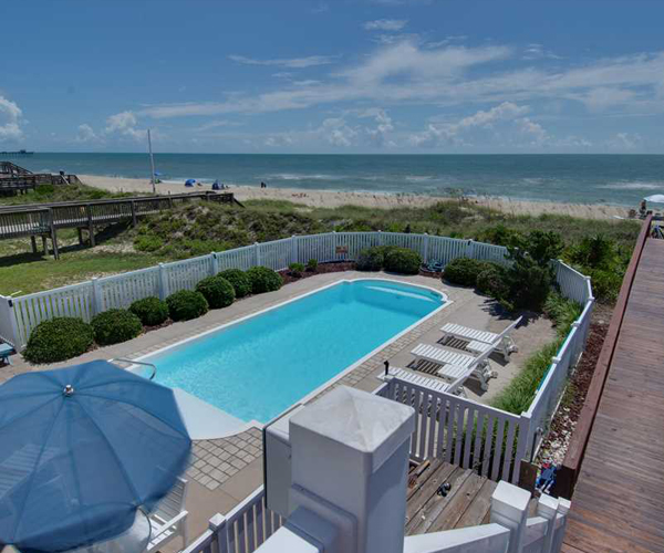 Featured Property Let Me Count The Waves - Exterior Pool