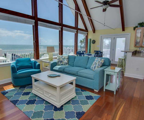 Featured Property Let Me Count The Waves - Living Room 2