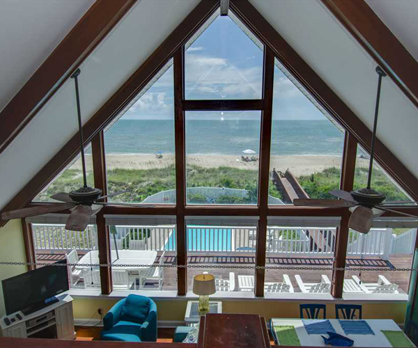 Featured Property Let Me Count The Waves - Loft view