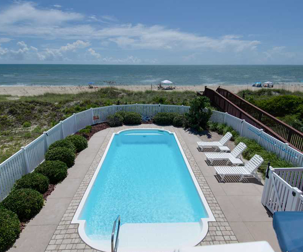 Featured Property Let Me Count The Waves - Pool and Beach