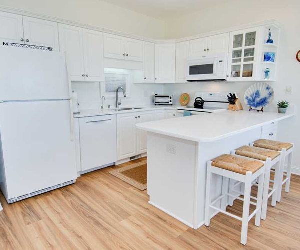 Featured Property Ocean Club F-201 - Kitchen