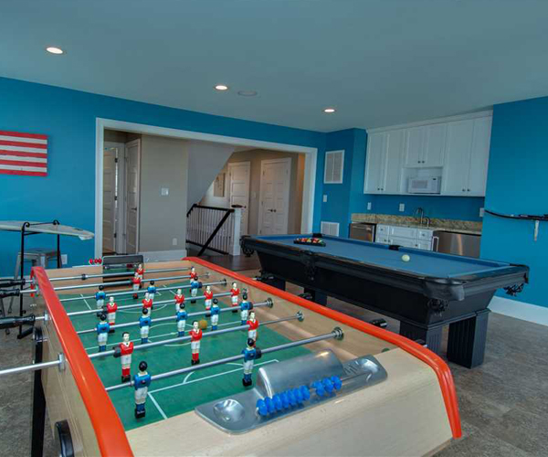 Featured Property Watercolours - Game Room