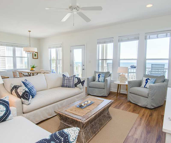 Featured Property of The Week – Ocean Club F-201 - Living Room
