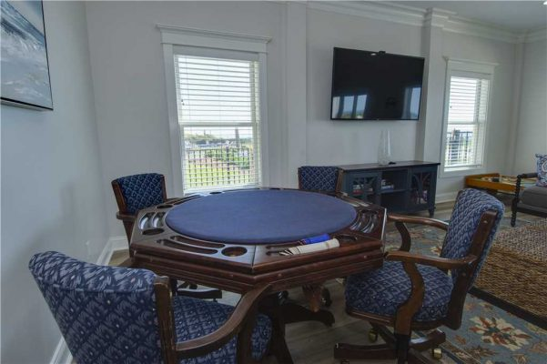 Featured Property of The Week Goin Coastal - Poker Table