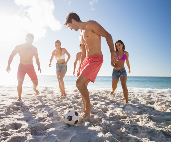 5 Tips for an Emerald Isle Getaway with Your Friends - Beach Soccer
