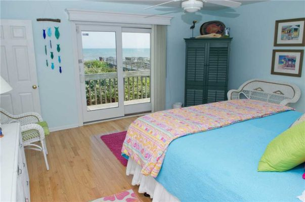 Just for the Fun of It Vacation Rental Bedroom