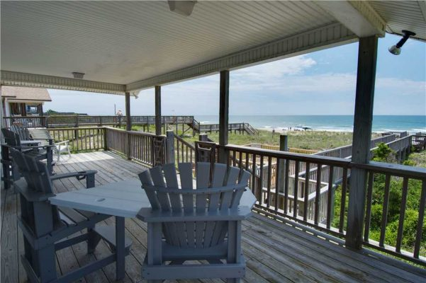 Just for the Fun of It Vacation Rental Upper Deck