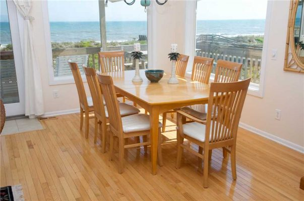 Just for the Fun of It Vacation Rental Dining Room