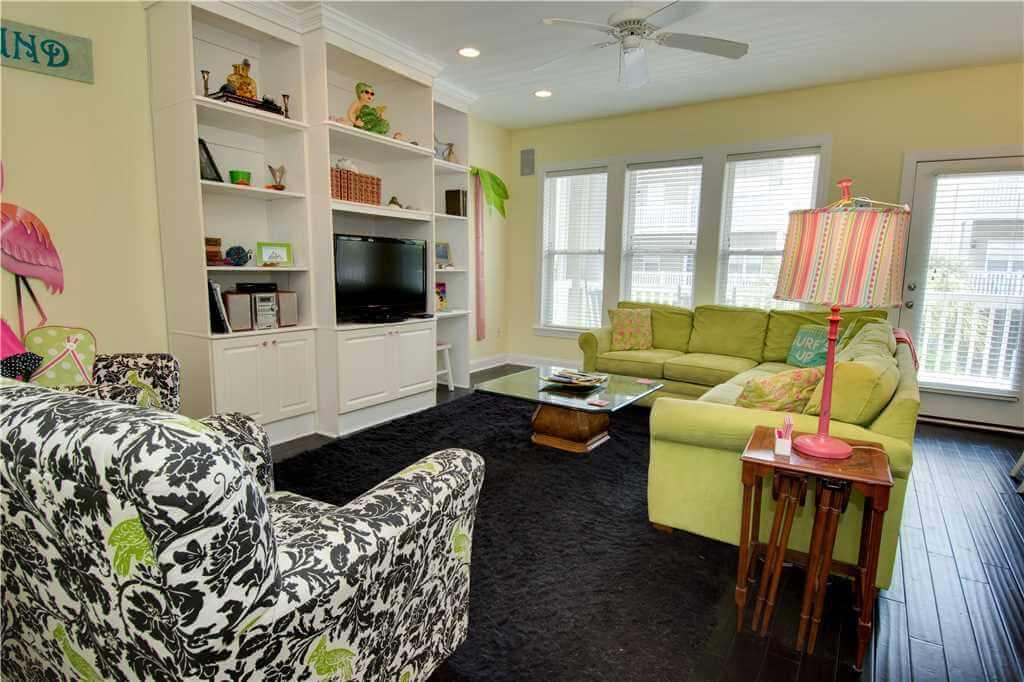 Ocean Club J-102 Living Room