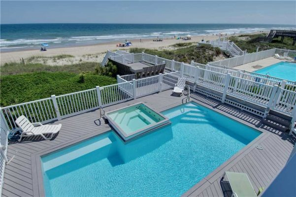 Pirates Perch - Oceanfront Rental with Pool in Emerald Isle NC