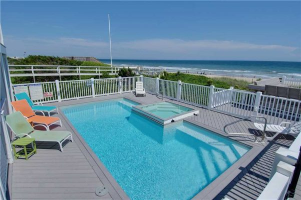 Pirates Perch Vacation Rental - Pool View