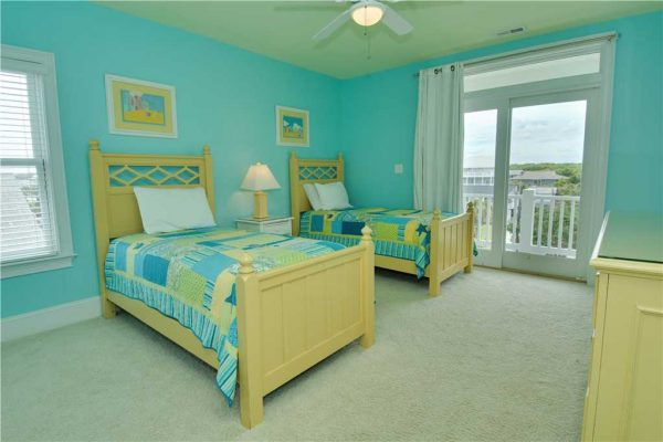 Pirates Perch Vacation Rental - Bedroom