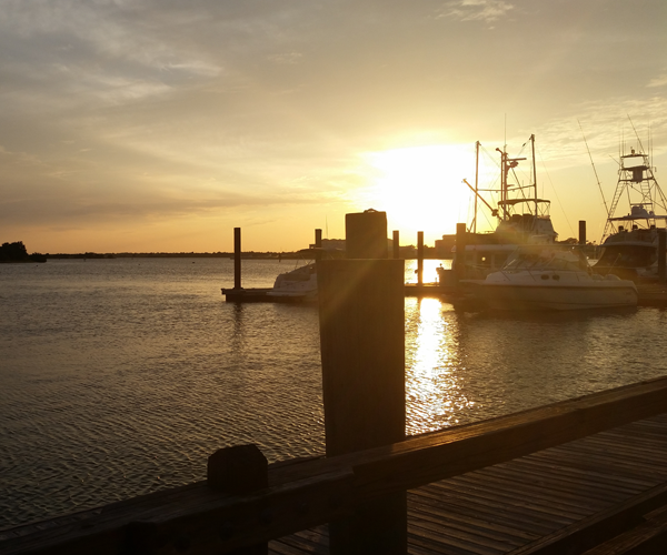 Top Places to See the Most Amazing Sunsets on NC's Crystal Coast - Swansboro