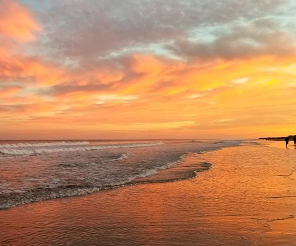Top Places to See the Most Amazing Sunsets on NC's Crystal Coast- beach