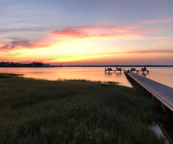 Top Places to See the Most Amazing Sunsets on NC's Crystal Coast - bouge sound