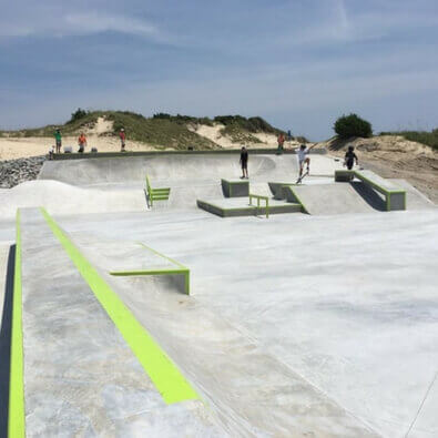 atlantic beach skate park - atlantic beach nc