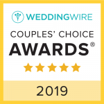 2018 Couples' Choice Awards Winner with WeddingWire