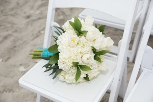 beach-wedding-chair-flowers-crystal-coast-nc-300x200