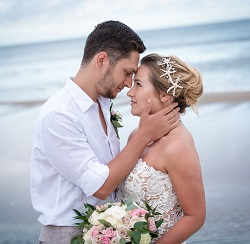 Beach Wedding on North Carolina's Crystal Coast
