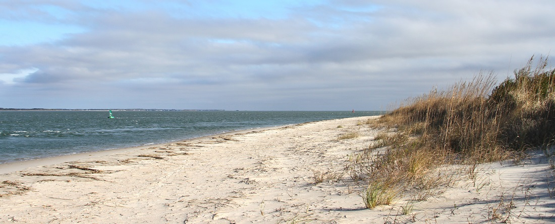 Beaches at Fort Macon State Park - Atlantic Beach NC