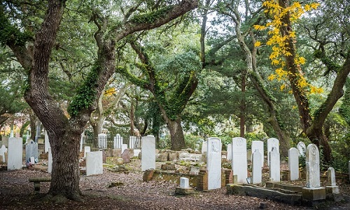 Cemetery in Beaufort NC