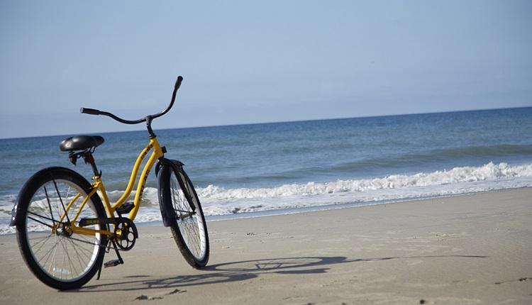 Biking on Beaches in Emerald Isle NC