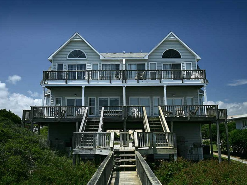 carolina sunshine west duplex rental in emerald isle nc