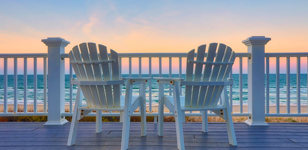 Beach Views from Deck - Emerald Isle Realty