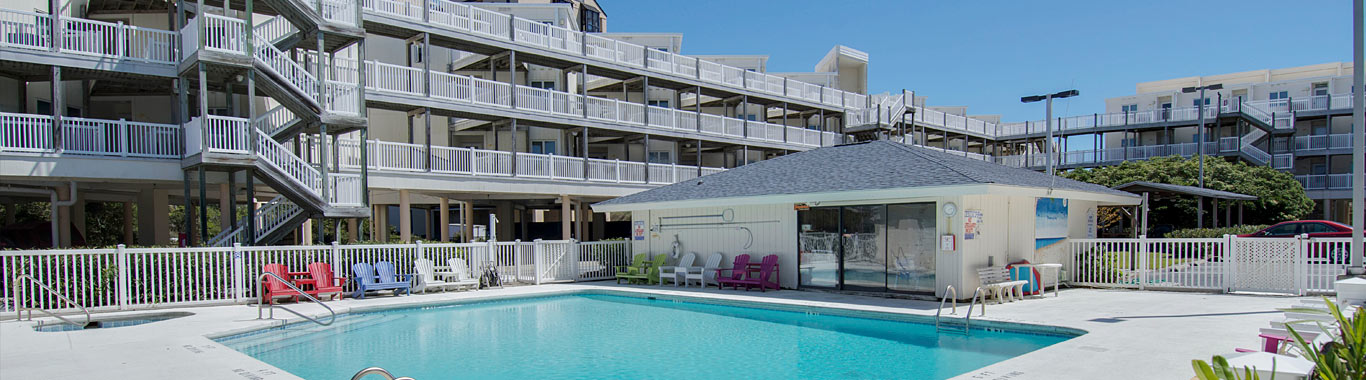 Condo Rentals in Emerald Isle NC - Colony By the Sea
